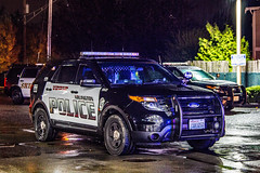 Arlington Police Department K-9 Unit Ford Police Interceptor Utility SUV (andrewkim101) Tags: arlington police department k9 unit ford interceptor utility suv snohomish county wa washington state everett