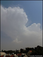 - cumulonimbus (moshek70) Tags: sky weather clouds israel jerusalem   cumulonimbus      thejudeandesert  redseatrough