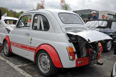Brooklands Italia day 2013 - Fiat 695 Abarth (jamesst1968) Tags: italia ferrari lamborghini brooklands italiaday