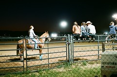 rodeo 1 (EllenJo) Tags: carnival arizona horse rural fence fairgrounds nikon sitting fair cottonwood nikonfm10 rodeo fujifilm horsemanship may3 nikonslr smalltownlife verdevalleyfair ellenjo ellenjoroberts springtimeinarizona fuji200speed may2013