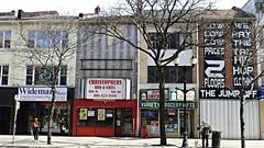 King Street scene, Hamilton (ali eminov) Tags: signs ontario canada streets hamilton streetscene shops stores kingstreet towns townsincanada