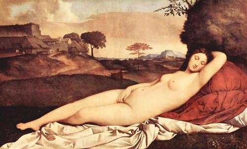 """Genealogía de las Soñantes, versiones de Lucas Cranach el Viejo (1534), Giorgione (1510), Tiziano Vecellio (1524), Nicolas Poussin (1625), Jean Auguste Ingres (1864), Amadeo Modigliani (1919), Pablo Picasso (1920), (1954), (1955), (1961). • <a style=""""font-size:0.8em;"""" href=""""http://www.flickr.com/photos/30735181@N00/8746827645/"""" target=""""_blank"""">View on Flickr</a>"""