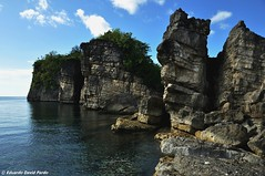 Rocks (D Pardo) Tags: travel sea nature landscape masbate rockformation ticao burobangkasoisland