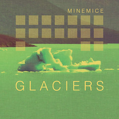 Minemice - Glaciers cover (Minemice) Tags: light music cover synth glaciers helvetica minemice synthwave