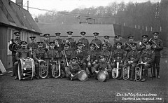 Dartford War Hospital, RAMC Band (robmcrorie) Tags: world history hospital army war military wounded first patient health national doctor nhs service british nurse 1914 healthcare 1918 vad