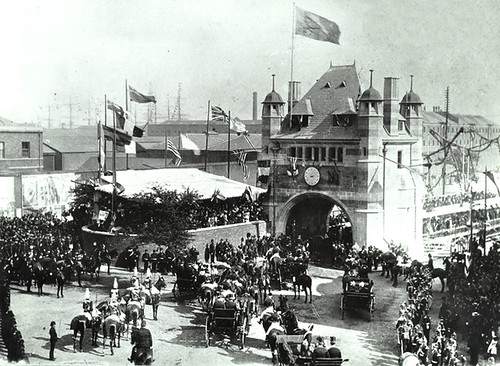 The Opening of Blackwall Tunnel, 1897