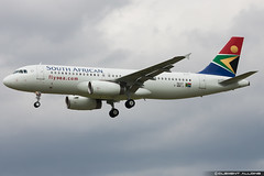 South African Airways Airbus A320-232 cn 5637 F-WWIJ // ZS-SZA (Clment Alloing - AirTeamImages) Tags: test cn canon airplane airport african aircraft south flight airbus toulouse airways aeroport aeropuerto blagnac spotting tls 100400 a320232 5637 lfbo fwwij zssza