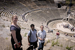 Amphitheater (veropie) Tags: travel turkey greek ruins roman trkiye traveling turkish byzantine ephesus sevenwonders izmir ancientgreece seluk efes ionia ancientcity romancity ancientcities sevenwondersoftheancientworld