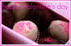 happyvalentines (ThatStephanie) Tags: chocolate treats homemade valentinesday truffles