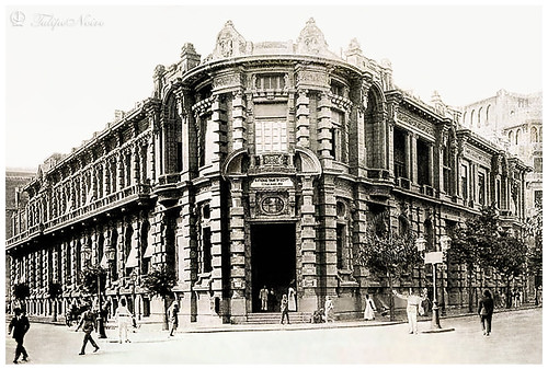 The Old National Bank Of Egypt - Cairo In 1900
