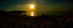 Panoramica de Tulla (Doblepupila) Tags: mar playa arena ocaso