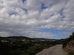 (Psinthos.Net) Tags: road morning november autumn trees sky mountain mountains nature clouds countryside village cloudy stones bluesky soil shrubs aftertherain pinetrees afterrain olivetrees cloudiness ruralroad        psinthos                 psinthosvillage  laoutari lagoutari     laoutariarea lagoutariarea
