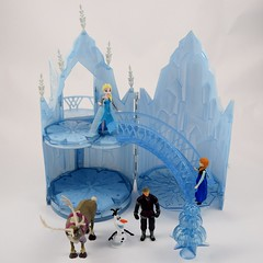 Elsa Musical Ice Castle Playset - US Disney Store Purchase - Deboxed - Full Front View (drj1828) Tags: winter anna castle ice olaf us mini musical figurines sven purchase elsa disneystore kristoff posable letitgo
