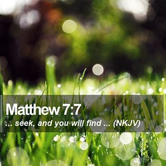 Daily Bible Verse - Matthew 7:7 (daily-bible-verse) Tags: devotion scriptures theology christcentered jesusislord