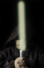 Dark force (rockindave1) Tags: darksideoftheforce myself adobecs6 canoneos5dmk2 hoodie head face
