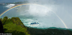 090814 Niagara panorama.jpg (Bruce Batten) Tags: vehicles photographicstylesandtechniques rainbows plants subjects transportationinfrastructure buildings atmosphericphenomena boats businessresearchtrips panoramas trees locations trips occasions rivers bridges canada shadows rocksgeologicalformations flowers waterfalls niagarafalls ontario ca