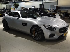 2016 Mercedes-AMG GT S (harry_nl) Tags: netherlands nederland 2016 denhaag mercedesbenz mercedesamg gt s jz877s sidecode9