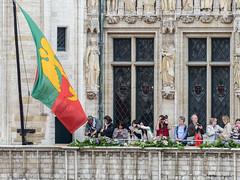 Balcon de l'hôtel de ville de Bruxelles (CORMA) Tags: 2016 belgique belgium tapisdefleurs bruxelles brussels grandplace bégonia japon japan europe hôteldeville