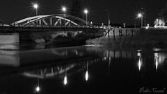 Ponte Sobre o Sado (Pedro Ramos Costa) Tags: bw ponte alccer rio sado pedro ramos costa alentejo portugal photo photoskillz eosdeurope eosd river riosado alccerdosal