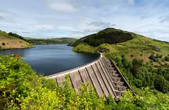 Llyn Clywedog dam (technodean2000) Tags: llyn clywedog the is man made reservoir formed by construction dam was built between 196567 regulate flow water
