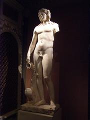 Dionysus-Bacchus, Roman, 2nd century AD (DeBeer) Tags: kunsthistorischesmuseum khm vienna wien austria art sculpture statue roman god dionysus bacchus
