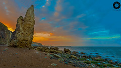 Seaham beach - Nose Point (Raj Jayaraj Photography) Tags: landscape beach sunset outdoor nosepoint chemicalbeach ngc slowshutter north east england