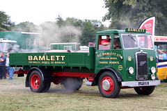 Foden A.C.Bamlett Ltd LPY535 (NTG's pictures) Tags: astle park traction engine rally foden ac bamlett ltd lpy535