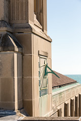 Loyola From Above (Loyola University Chicago) Tags: summer lsc aerials lakemichigan busshelter seasons sundial time clock cudahylibrary