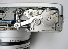 canonet ql19 (zaphad1) Tags: canonnet ql19 repair front cover off removal ql 19 bottom canon canonet