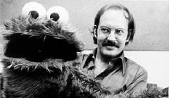 Cookie Monster and Frank Oz (Tom Simpson) Tags: sesamestreet vintage television behindthescenes cookiemonster frankoz