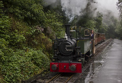 Abergynolwyn, Talyllyn Railway (Dai Lygad) Tags: rail railway railways railroads trains steam engine talyllyn talyllynrailway wales gwynedd abergynolwyn rain summer weather inexplore explore explored flickr