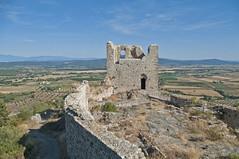 La guardia millenaria - The millenary guard (ricsen) Tags: italia italy toscana tuscany montemassi maremma roccastrada grosseto rocca fortress castello castle