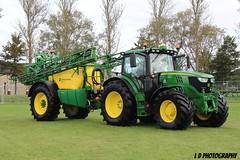 IMG_2290 (lesleydoubleday) Tags: johndeere johndeere50thcelebration tractor farming farmmachinery langar