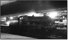 Night Steam in Bristol 3 (trafalgar45682) Tags: 6924 grantley hall bristol temple meads sixties steam