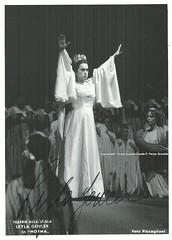 GENCER, Leyla, Norma (Operabilia) Tags: autograph claudepascalperna opera leylagencer soprano norma bellini milan teatroallascala autographe operabilia dominiquejpréaux lirica dominiquepréaux