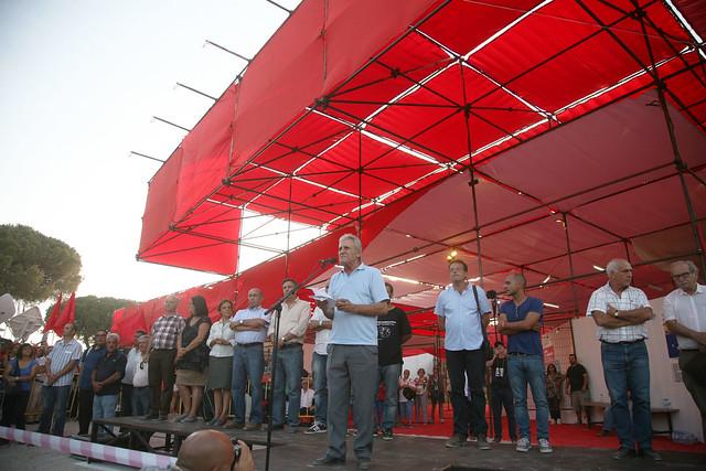 Acto de Abertura da 40ª Festa do «Avante!»