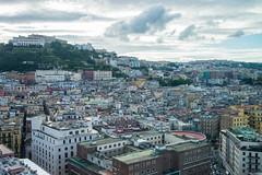 Naples - Rooftop View to Castel Sant'Elmo 2 (Le Monde1) Tags: italy naples napoli lemonde1 nikon d610 amalficoast city greek roman angevin vomero hill prison charlesv rooftop castelsantelmo