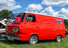 """Cherry Bomb"" - Ford Econoline (J Wells S) Tags: fordeconoline van streetrod hotrod showandtellcarshow reading cincinnati ohio paneltruck panelvan"