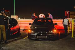 (Xeyph) Tags: car auto tuner going gold 3 wheel wheels porsche meet tires mitsubishi lance evo