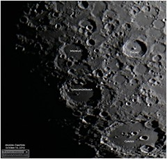 Craters Wilhelm, Longomontanus and Clavius (Tom Wildoner) Tags: tomwildoner leisurelyscientistcom leisurelyscientist moon lunar crater solarsystem satellite phase clavius wilhelm longomontanus astronomy astrophotography astronomer science educational space canon canon6d meade celestron nightsky night video stacking iau impact valley rift riffe registax