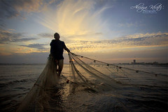 My feet is my only carriage (Aliraza Khatri) Tags: karachi sindh pakistan sea view fisherman pushing life carriage fishing sunset sky dramatic tranquil silhouette aliraza khatri alirazakhatri beach colors hard hardlife net city travel lifestyle courage hardworking waves