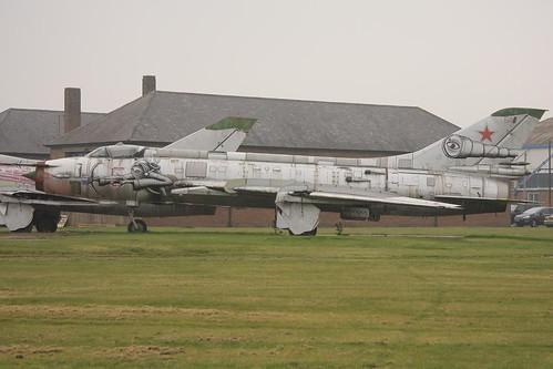RA_54, Sukhoi SU-17B, (69004), Chester (EGNR / CEG), 23/03/2012
