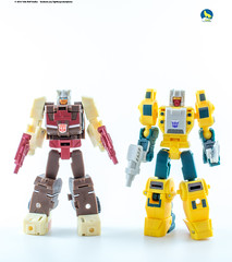 UT_TJ_Chromedome_Weirdwolf (Weirdwolf1975) Tags: tfylp transformers podcast ocularmax uniquetoys sphinx mirage masterpiece legends weirdwolf chromedome headmaster tomandjerry