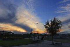 Tramonto su Caorle (filippi antonio) Tags: caorle veneto italy italia tramonto sunset paesaggio paesaggiourbano cityscape citt city cielo sky nuvole clouds blue