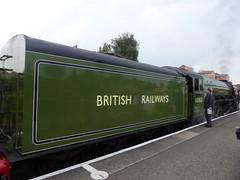 60163 Tornado (metrogogo) Tags: 60163tornado 60163 tornado britishrailways kidderminster england green railways steamengine severnvalleyrailway applegreen steamlocomotive steam