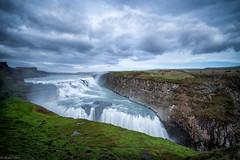 Gulfoss (michael.mu) Tags: leica m240 superelmarm21mmf34asph gullfoss waterfall iceland landscape nordicvisitor bw110nd colorefexpro longexposure