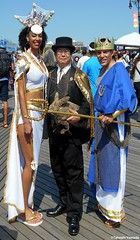 Dr. Takeshi Yamada and Seara (Coney Island Sea Rabbit) at the Mermaid Parade by the Coney Island Beach in Brooklyn, New York on June 18, 2016.  20160618SAT MERMAID PARADE. DSCN6620=p-1010C1 (searabbits23) Tags: searabbit seara takeshiyamada  taxidermy roguetaxidermy mart strange cryptozoology uma ufo esp curiosities oddities globalwarming climategate dragon mermaid unicorn art artist alchemy entertainer performer famous sexy playboy bikini fashion vogue goth gothic vampire steampunk barrackobama billclinton billgates sideshow freakshow star king pop god angel celebrity genius amc immortalized tv immortalizer japanese asian mardigras tophat google yahoo bing aol cnn coneyisland brooklyn newyork leonardodavinci damienhirst jeffkoons takashimurakami vangogh pablopicasso salvadordali waltdisney donaldtrump hillaryclinton endangeredspecies parade