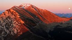 Mount Altissimo di Nago (Garda mountains): sunset (ab.130722jvkz) Tags: italy trentino veneto alps easternalps bresciaandgardaprealps mountbaldo mountains sunset