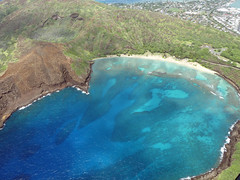 (Mitchell Lafrance) Tags: 2016 vacation travel holiday hawaii oahu helicopter hanaumabay