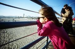 (golfpunkgirl) Tags: stamonica santamonica route66 losangeles la california usa travel holiday beach pier cali film lcwide 17mm lomo lomography sunset ava may2016 boardwalk sun wide lomographyfilm400 negfilm